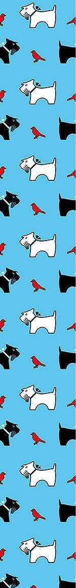 Designtapete die vogelperspektive eines terriers - Vogelperspektive englisch ...
