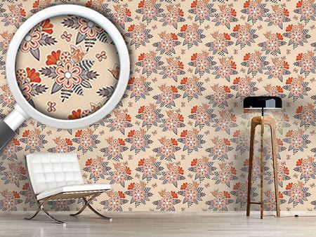 Design Wallpaper Midsummer Flowers