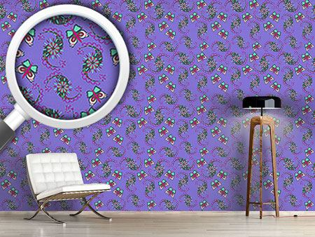 Design Wallpaper Butterflies Dance