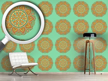 Design Wallpaper Autumn Mandala
