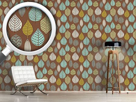 Design Wallpaper Scandinavian Leaf Archives