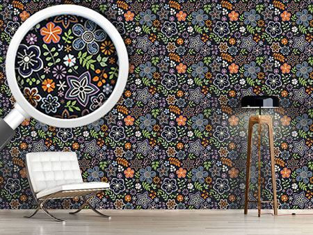 Design Wallpaper Russian Magic Flowers