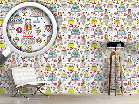 Design Wallpaper Julias Cake Manufactory