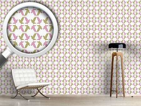 Design Wallpaper Origami Birds