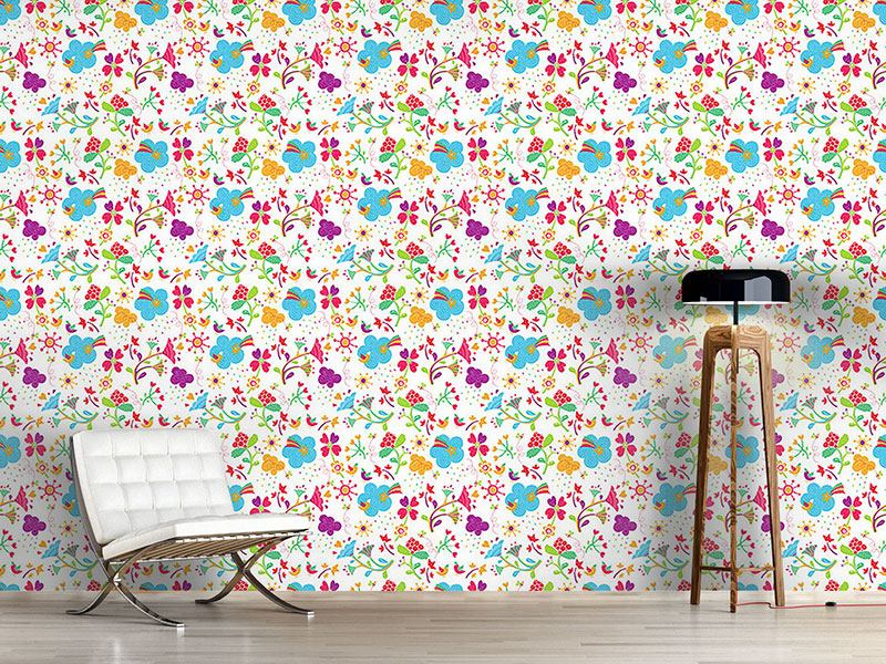 Design Wallpaper Patchwork Fantasies