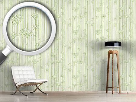 Design Wallpaper Bamboo Woods