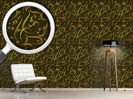 Design Wallpaper Calligraphy Of The Orient