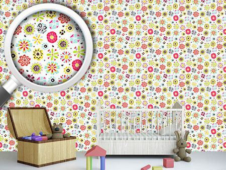 Design Wallpaper Flowers Shine In Summer