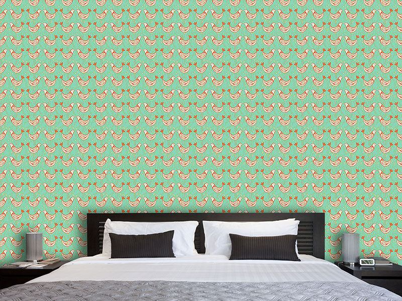 Design Wallpaper Turtle Doves