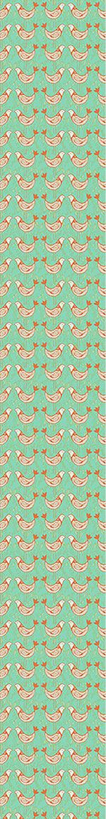 Papier peint design Turtle Doves