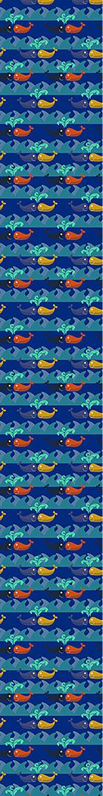 Design Wallpaper Happy Whales