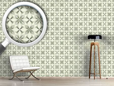 Design Wallpaper The Luminescence Of The Flowers