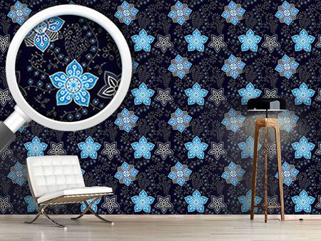 Design Wallpaper Floral Night Compliments