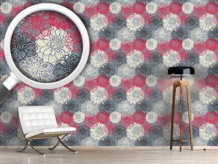 Design Wallpaper Bohemia Dahlia