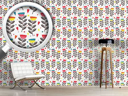 Design Wallpaper In Julias Flower Garden