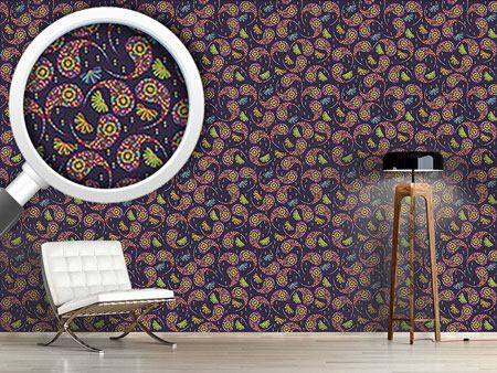Design Wallpaper Paisley Party