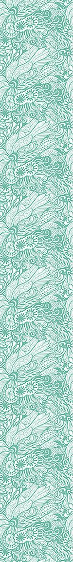 Papier peint design Art Nouveau Of The Ocean