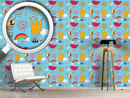 Design Wallpaper A Merry Balloon Ride
