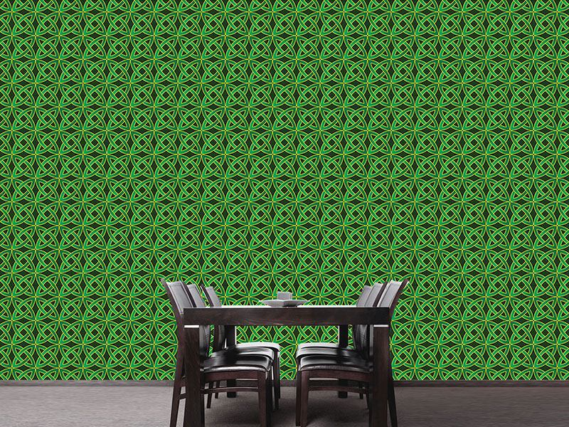 Design Wallpaper Celtic Circles