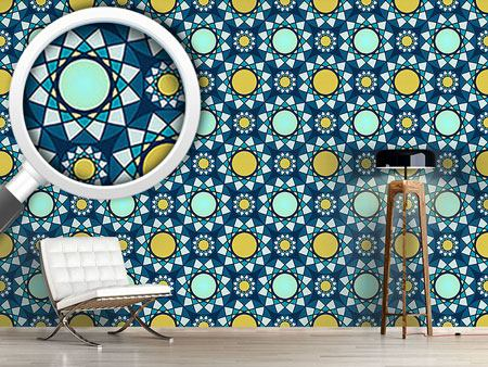 Design Wallpaper The Mosaic Of The Winter Sun