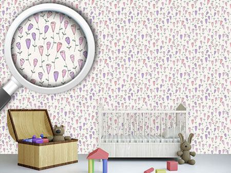 Design Wallpaper Little Rose Garden