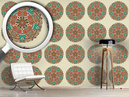 Design Wallpaper The Mandala Of Genghis Khan