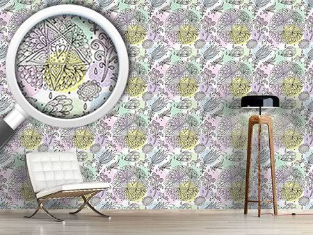 Design Wallpaper In Dreams I Send Stars And Flowers