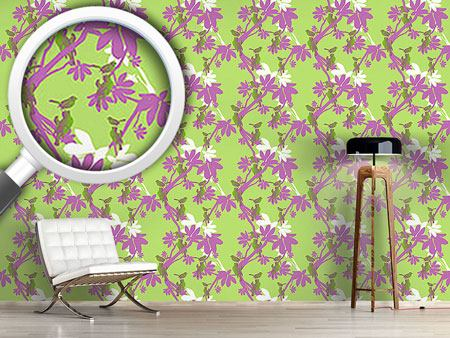 Design Wallpaper Birds En Vogue