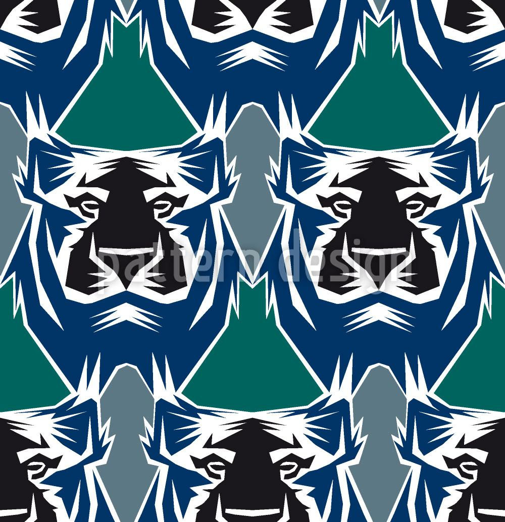 Design Wallpaper The Tiger Is The King Of The Jungle