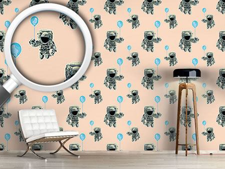 Design Wallpaper The Party Odyssey Of The Astronauts