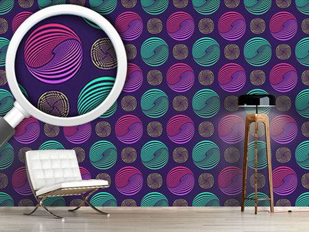 Design Wallpaper Willy Wonka Marbles