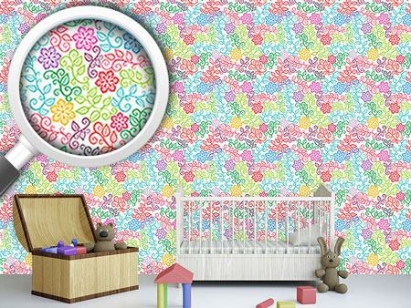 Design Wallpaper The Floral Delights Of Summer