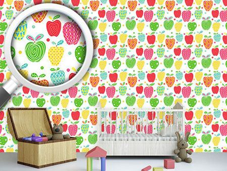 Design Wallpaper Apple Art