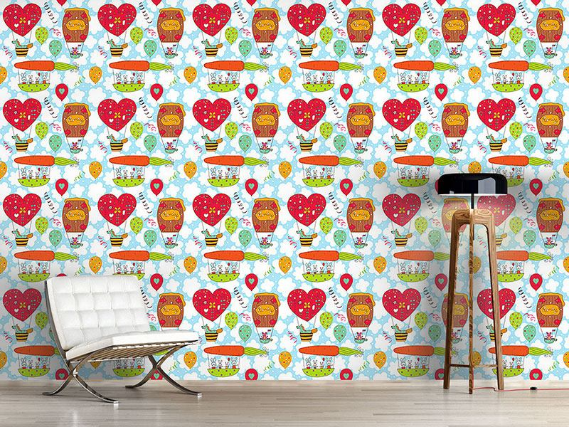 Design Wallpaper Honeypennies Balloon Trip
