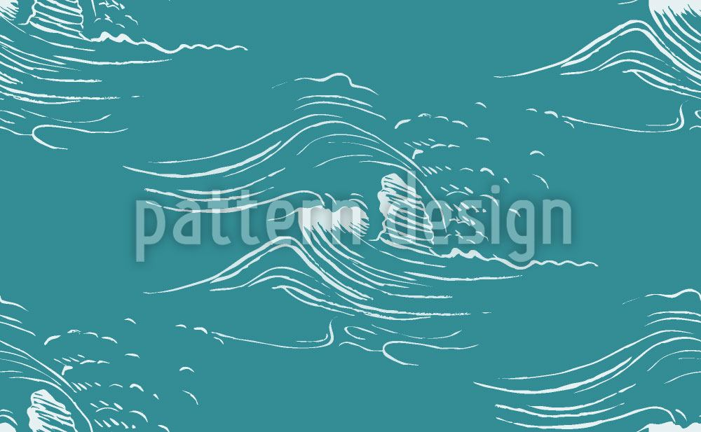Papel tapiz de diseño The Tidal Waves