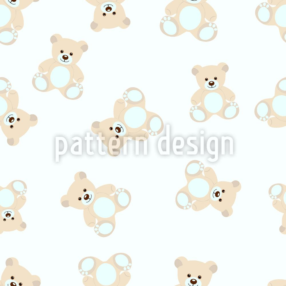 Papier peint design My Little Petzi Bear