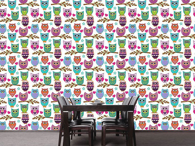 Design Wallpaper The Big Owl Assembly