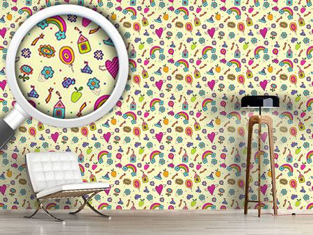 Design Wallpaper Sweet Nursery Dreams