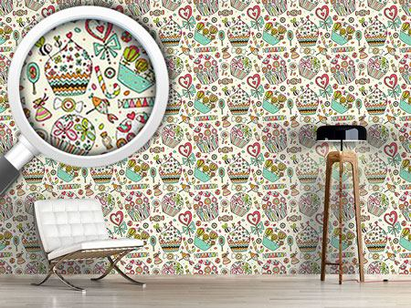 Design Wallpaper The Sweet Pleasures Of Life