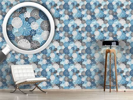 Design Wallpaper Gorgeous Winter Circles