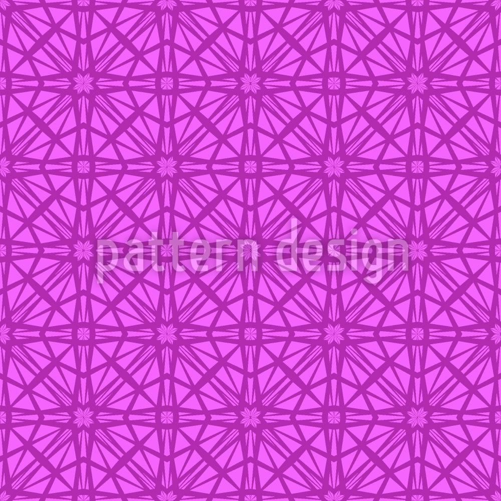 Papier peint design Octagon Lady