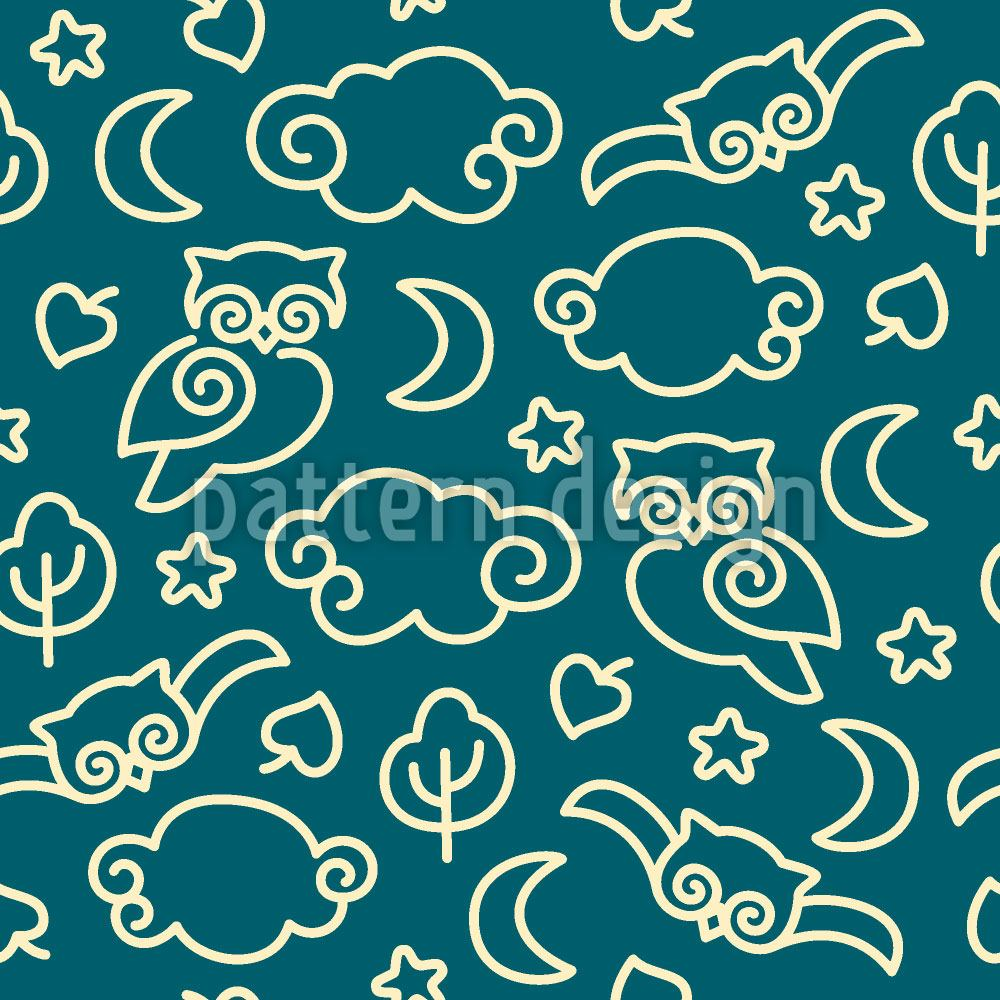 Design Wallpaper Night Owls