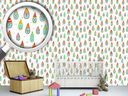 Design Wallpaper Cute Drop Dwarfs
