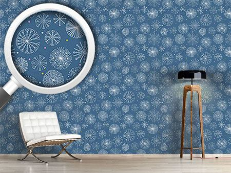 Design Wallpaper Magic Crystal Circles