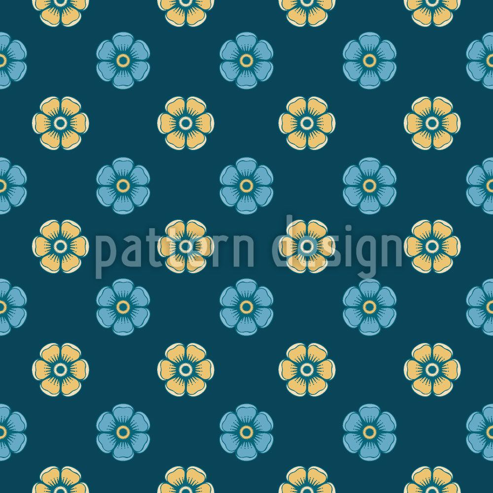 Design Wallpaper Night Of The Enamel Roses