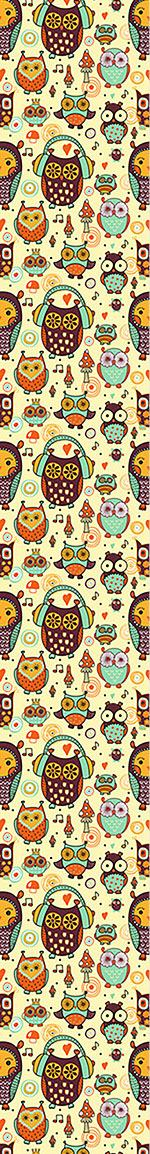 Design Wallpaper Owl Love Music Very Much