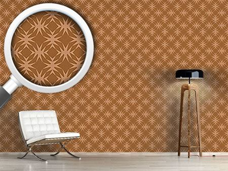 Design Wallpaper Star Check In Caramel