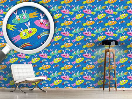 Design Wallpaper Dreamship Bunny