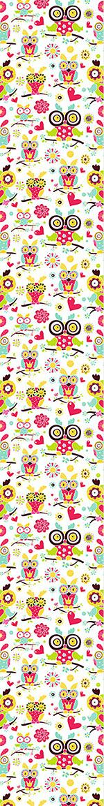 Design Wallpaper Owl Family