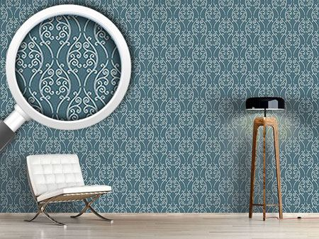 Design Wallpaper Blue Onlooker